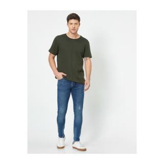 Koton Michael Skinny Fit Yipratmali Jeans pánské BLUE 32/32