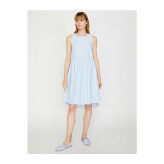 Koton Pearl Detail Dress dámské BLUE 34