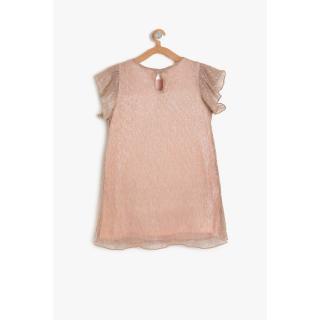 Koton Pink Girls Frilly Detailed Dress dámské Other 4-5 Y