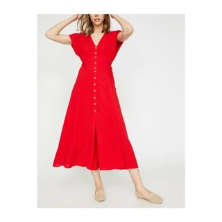 Koton Red Shirt Dress dámské 36