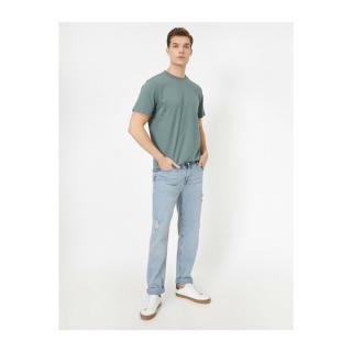 Koton Ripped Detailed Jean Trousers pánské BLUE 29/30