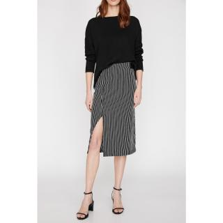 Koton Skirt dámské Black XL