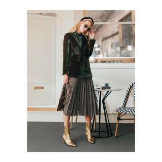 Koton Skirtly Yours Styled By Melis Agazat Skirt dámské Blue XXL