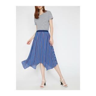 Koton Striped Skirt dámské Blue 34