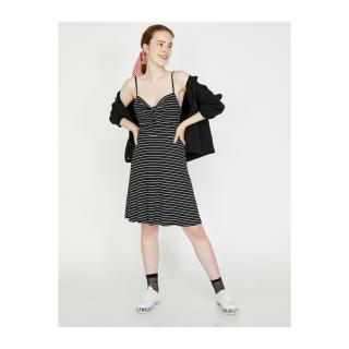 Koton Suspender Dress dámské Black S