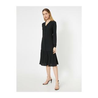 Koton Women Black Dress dámské Black 999 36