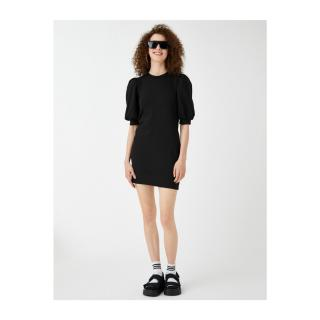 Koton Women Black Dress dámské Other L