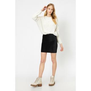 Koton Women Black Mini Skirt dámské Black 999 L