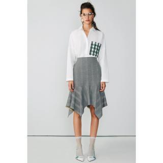 Koton Women Black Plaid Skirt dámské 34