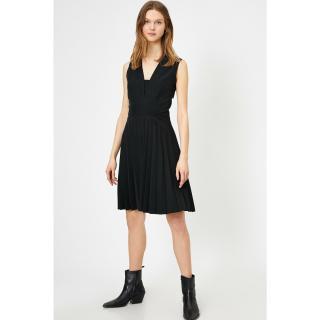Koton Women Black Sleeveless Dress dámské Black 999 38
