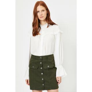 Koton Women Khaki Skirt dámské Green 34
