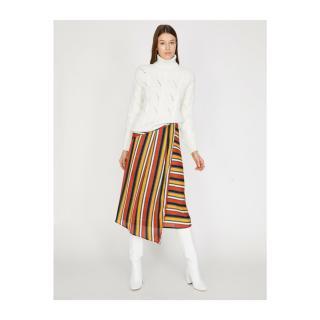 Koton Women Orange Skirt dámské 34