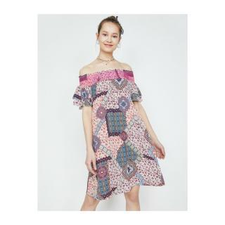 Koton Women Pink Midi Dress dámské 34