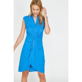 Koton Womens Blue Dress dámské 34