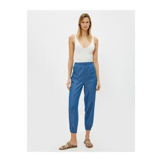 Koton Womens Blue Jogger Pants dámské Other 36