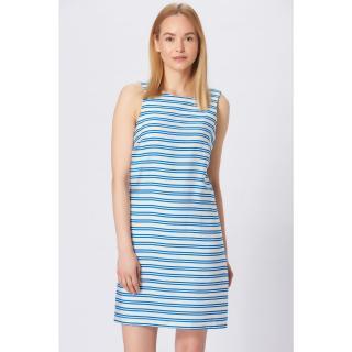 Koton Womens Blue Striped Dress dámské 42