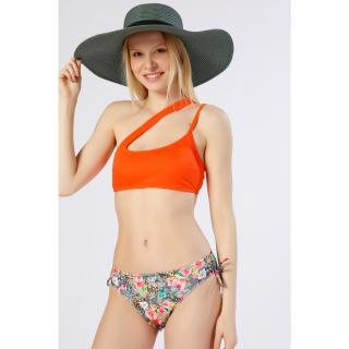 Koton Womens Orange Bikini Top dámské 34