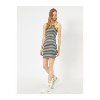 Koton Womens Striped Dress dámské Other S