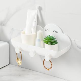 Koupelnová police ve tvaru mraku Barva: bílá