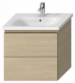 Koupelnová skříňka pod umyvadlo Jika Mio-N 61x44,5x59 cm jasan H40J7154013421 dřevodekor jasan
