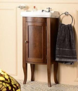 Koupelnová skříňka pod umyvadlo Sapho Retro 36,5x29 cm buk 1640 dřevodekor buk