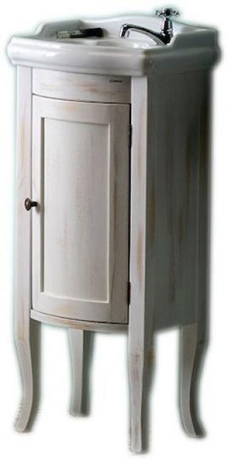 Koupelnová skříňka pod umyvadlo Sapho Retro 36,5x29 cm starobílá 1641 dřevodekor starobílá