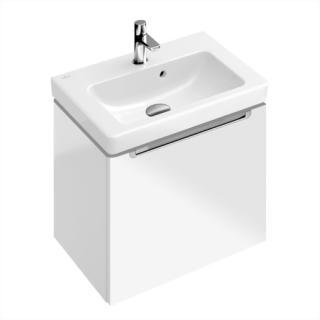 Koupelnová skříňka pod umyvadlo Villeroy & Boch Subway 2.0 48,5x38x42 cm bílá lesk A68500DH bílá bílá