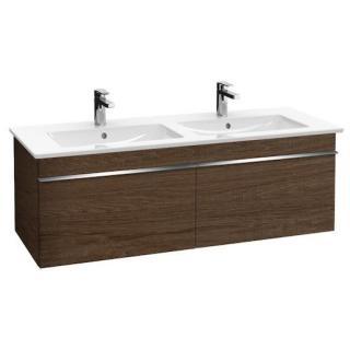 Koupelnová skříňka pod umyvadlo Villeroy & Boch Venticello 125,3x50,2x42 cm dub Santana A93901E1 dřevodekor dub Santana