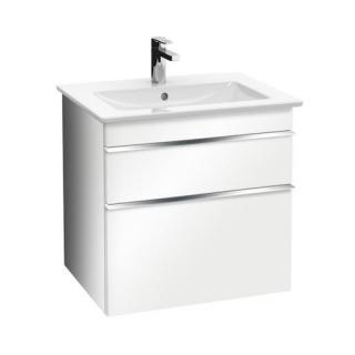 Koupelnová skříňka pod umyvadlo Villeroy & Boch Venticello 55,3x50,2x59 cm bílá lesk A92301DH bílá bílá