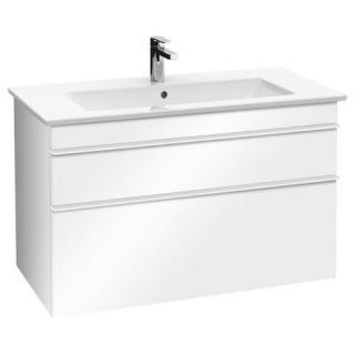 Koupelnová skříňka pod umyvadlo Villeroy & Boch Venticello 75,3x50,2x59 cm bílá mat A92502MS bílá bílá