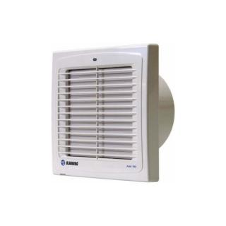 Koupelnový ventilátor s automatickou žaluzií a časovým doběhem AUTO 100 H se senzorem vlhkosti