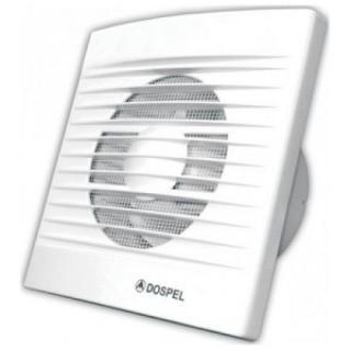 Koupelnový ventilátor s časovým doběhem DOSPEL STYL 150 WC
