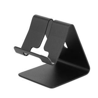 Kovový stojan na mobilní telefon Barva: černá