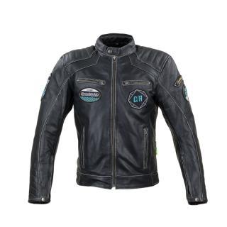 Kožená Moto Bunda W-Tec Losial  S  Černá S