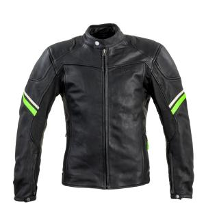 Kožená Moto Bunda W-Tec Montegi  Matně Černá  M M