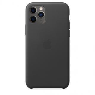 Kožené pouzdro Leather Case pro Apple iPhone 11 Pro, black