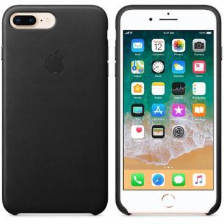 Kožené pouzdro Leather Case pro Apple iPhone 8 Plus/7 Plus, black