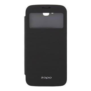 Kožené S-View pouzdro ZOPO pro Zopo ZP999/ZP3X, černá