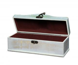 Krabice s víkem Powdered Bílá