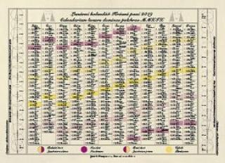 Krásná paní - Jednolistý nástěnný kalendář 2021 - Žofie Kanyzová