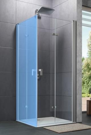 Křídlové sklapovací dveře Design Pure černá