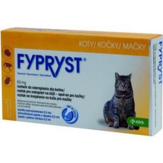 Krka Fypryst spot on pro kočky