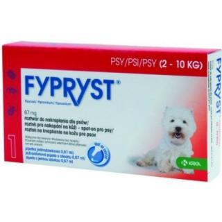 Krka Fypryst spot on pro psy 2-10kg