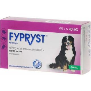 Krka Fypryst spot on pro psy nad 40kg