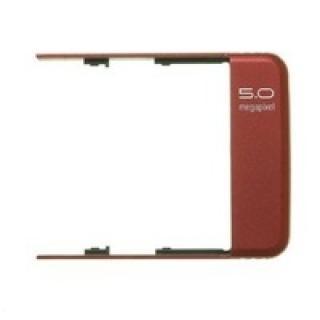 Kryt antény a kamery na mobil Sony Ericsson C902, red - VÝPRODEJ!!