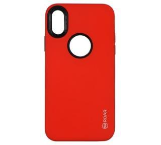 Kryt ochranný Roar Rico Armor pro Apple iPhone X, červená