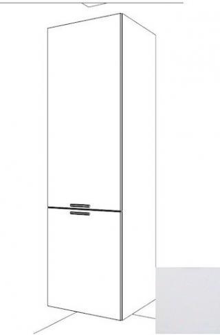 Kuchyňská skříňka pro lednici vysoká Naturel Gia 60 cm bílá mat BF60214BM