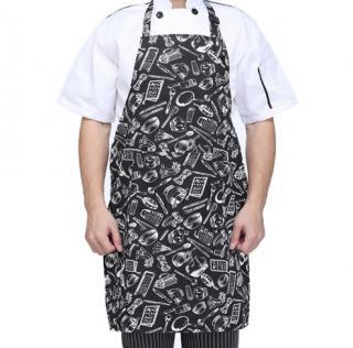 Kuchyňská zástěra s potiskem - Kuchyňské pomůcky