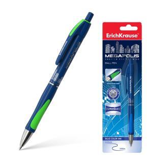 Kuličkové pero Erich Krause Megapolis Concept, modré, v plastovém obalu