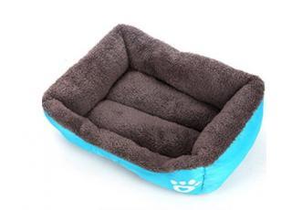 Kvalitní pelíšek pro psa Barva: modrá, Velikost: S